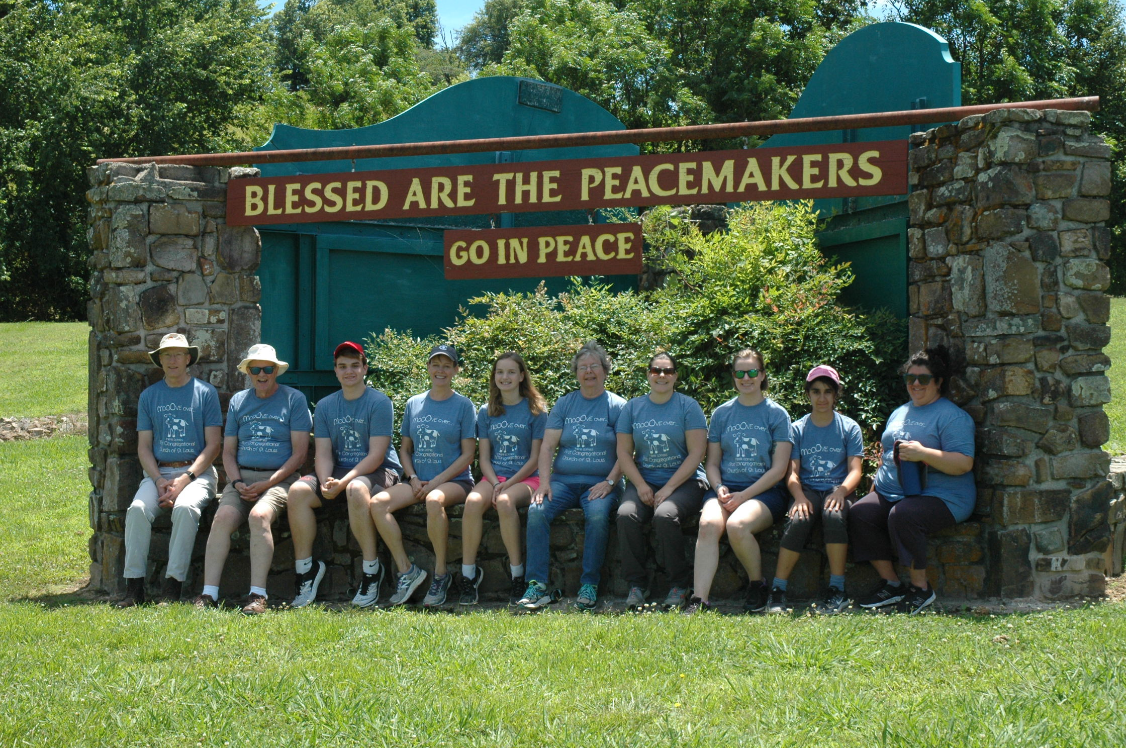 Youth service trip to Heifer ranch