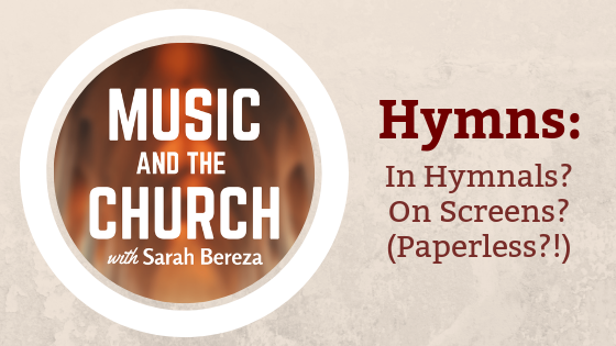 Music and the church with Sarah Bereza